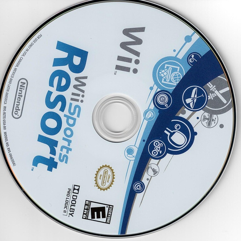 Replacement Wii Sports Disc