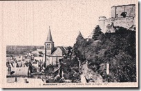 Le Chateau feodal et l eglise