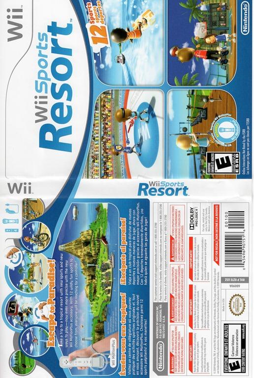 Check Engine Light Blinking >> Wii Scan- Wii Sports Resort | Kristofer Brozio
