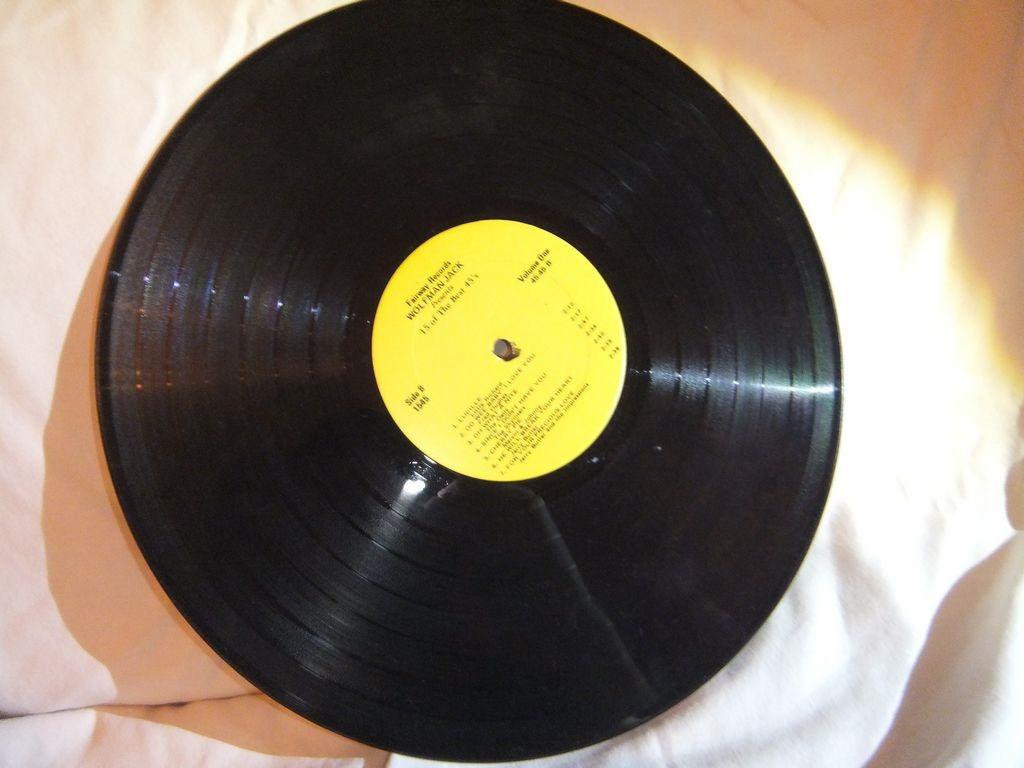 Vinyl 33 Wolfman Jack 15 Of The Best 45s Kristofer Brozio