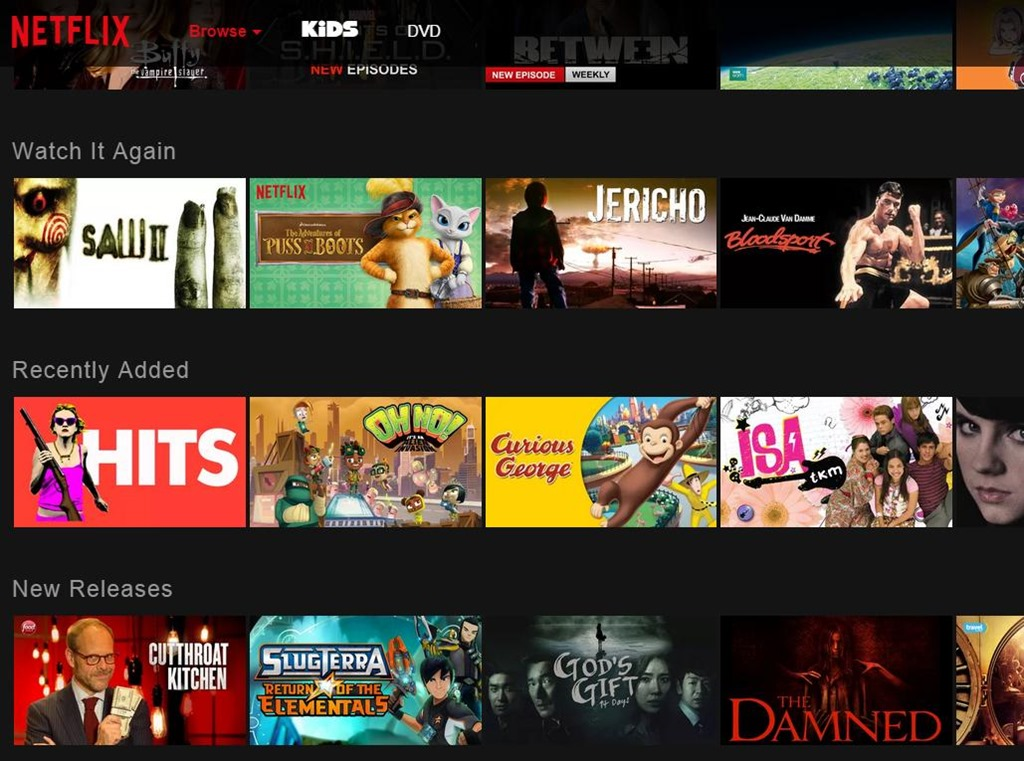 Netflix New Interface Redesign Is Horribly Not User