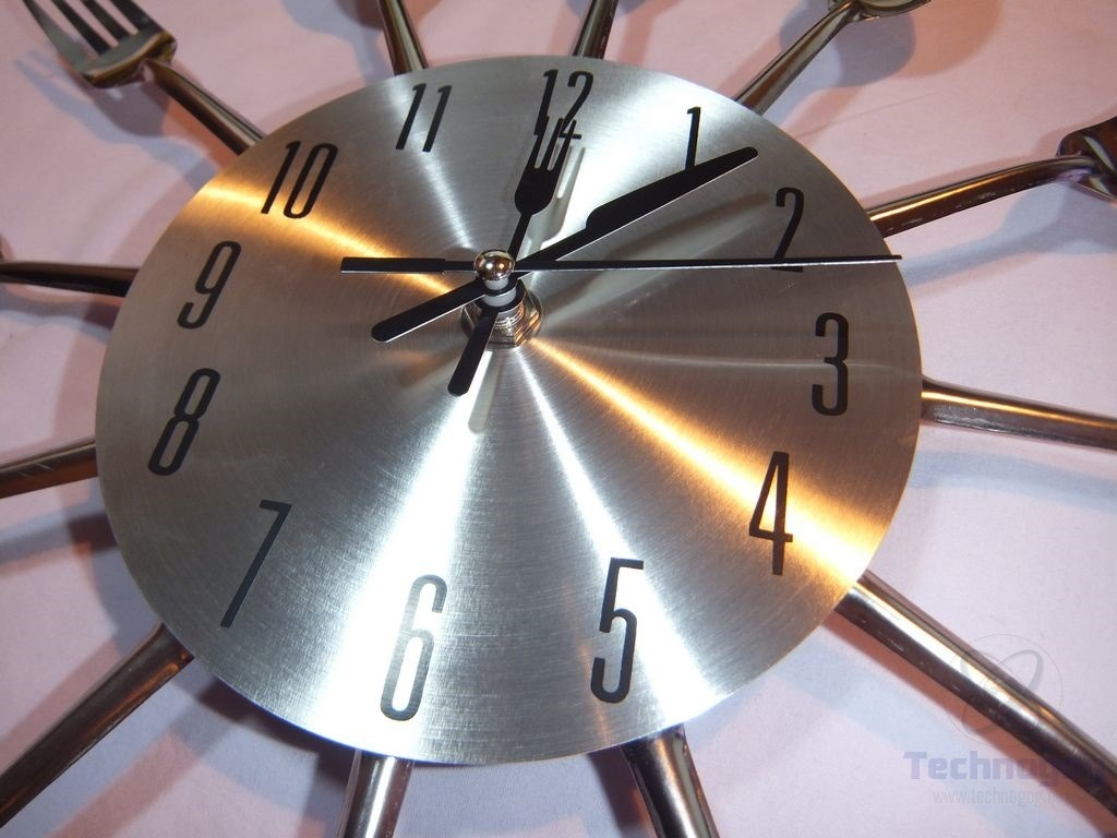 Review Of Ohuhu Cutlery Kitchen Fork Amp Knife Wall Clock